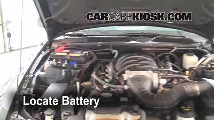 2006 Ford Mustang GT 4.6L V8 Coupe Battery Jumpstart