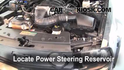 2006 Ford Mustang GT 4.6L V8 Coupe Líquido de dirección asistida