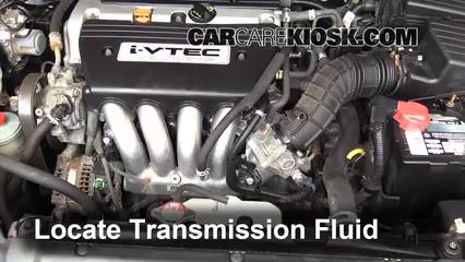 2006 Honda Accord EX 2.4L 4 Cyl. Coupe (2 Door) Líquido de transmisión