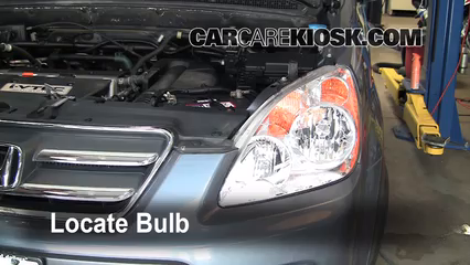 2006 Honda CR-V SE 2.4L 4 Cyl. Éclairage Feux de croisement (remplacer l'ampoule)