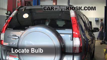 2006 Honda CR-V SE 2.4L 4 Cyl. Éclairage Feux de marche arrière (remplacer une ampoule)