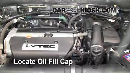 2006 Honda CR-V SE 2.4L 4 Cyl. Huile Ajouter de l'huile