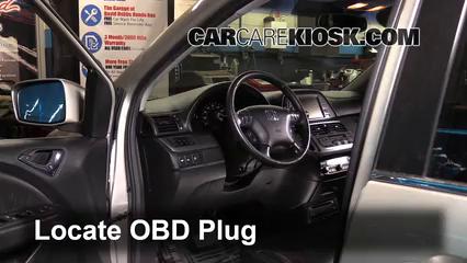 2006 Honda Odyssey Touring 3.5L V6 Check Engine Light