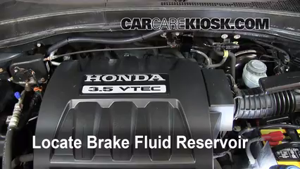 2006 Honda Pilot EX 3.5L V6 Brake Fluid
