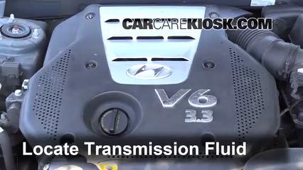2006 Hyundai Sonata LX 3.3L V6 Liquide de transmission