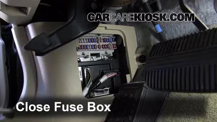 interior fuse box location: 2003-2007 infiniti g35 - 2006 infiniti g35 x  3.5l v6  carcarekiosk