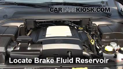 2006 Land Rover LR3 SE 4.4L V8 Brake Fluid