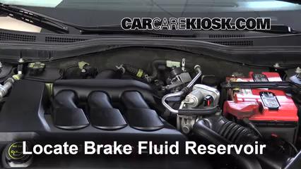 2006 Lincoln Zephyr 3.0L V6 Brake Fluid Check Fluid Level