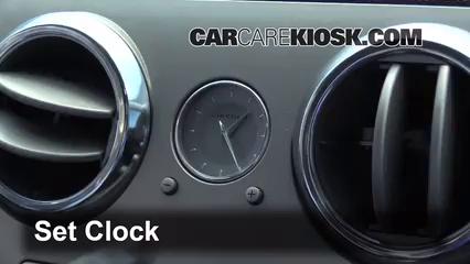 2006 Lincoln Zephyr 3.0L V6 Clock