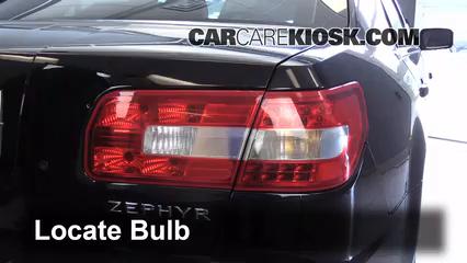 2006 Lincoln Zephyr 3.0L V6 Lights Brake Light (replace bulb)