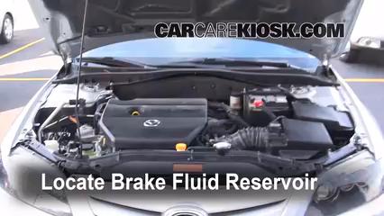 2006 Mazda 6 i 2.3L 4 Cyl. Sedan (4 Door) Brake Fluid