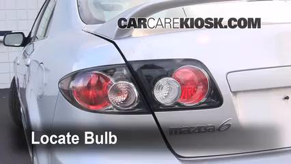 2006 Mazda 6 i 2.3L 4 Cyl. Sedan (4 Door) Lights
