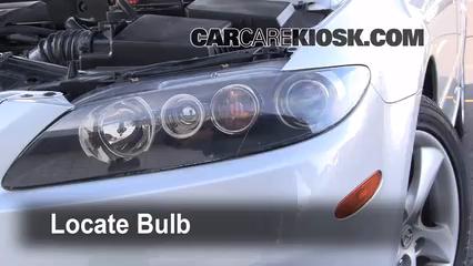 2006 Mazda 6 i 2.3L 4 Cyl. Sedan (4 Door) Luces Luz de marcha diurna (reemplazar foco)
