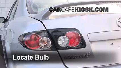 2006 Mazda 6 i 2.3L 4 Cyl. Sedan (4 Door) Lights Reverse Light (replace bulb)