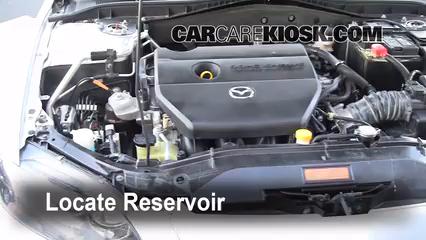 2006 Mazda 6 i 2.3L 4 Cyl. Sedan (4 Door) Windshield Washer Fluid