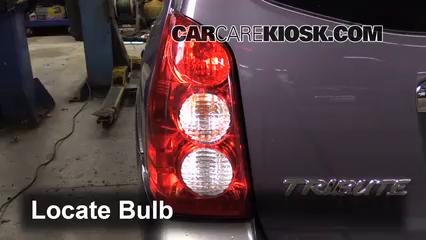 2006 Mazda Tribute S 3.0L V6 Luces