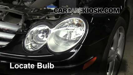 2006 Mercedes-Benz CLK350 3.5L V6 Convertible (2 Door) Lights Daytime Running Light (replace bulb)