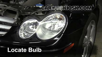 2006 Mercedes-Benz CLK350 3.5L V6 Convertible (2 Door) Luces Luz de estacionamiento (reemplazar foco)
