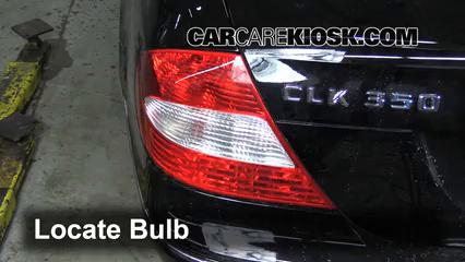 2006 Mercedes-Benz CLK350 3.5L V6 Convertible (2 Door) Luces Luz de reversa (reemplazar foco)