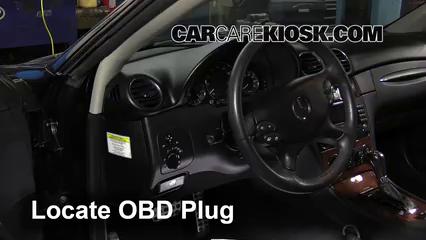 2006 Mercedes-Benz CLK350 3.5L V6 Convertible (2 Door) Check Engine Light