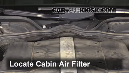 2006 Mercedes-Benz E500 5.0L V8 Air Filter (Cabin)