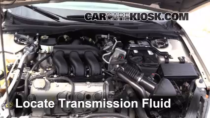 2006 Mercury Milan Premier 3.0L V6 Transmission Fluid