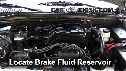 2006 Mercury Mountaineer Convenience 4.0L V6 Brake Fluid