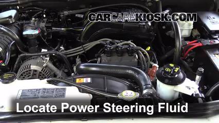 2006 Mercury Mountaineer Convenience 4.0L V6 Power Steering Fluid