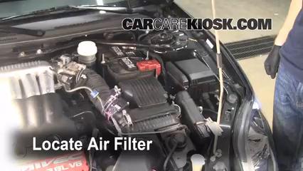 2006 Mitsubishi Eclipse GT 3.8L V6 Air Filter (Engine)