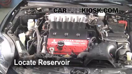 2006 Mitsubishi Eclipse GT 3.8L V6 Windshield Washer Fluid