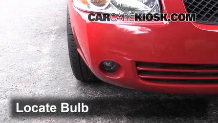 2006 Nissan Sentra S 1.8L 4 Cyl. Lights Fog Light (replace bulb)