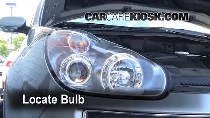 2006 Subaru B9 Tribeca 3.0L 6 Cyl. Lights Turn Signal - Front (replace bulb)