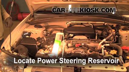 2006 Subaru Forester X 2.5L 4 Cyl. Power Steering Fluid