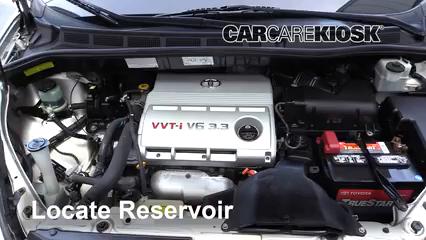 2006 Toyota Sienna LE 3.3L V6 Windshield Washer Fluid Add Fluid