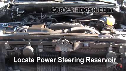 2006 Toyota Tundra SR5 4.7L V8 Crew Cab Pickup Power Steering Fluid