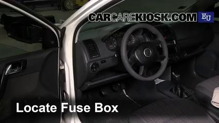 Interior Fuse Box Location: 2002-2009 Volkswagen Polo - 2006 Volkswagen Polo  E 1.2L 3 Cyl.CarCareKiosk
