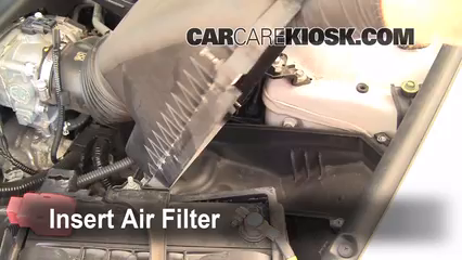 Air Filter How-To: 2004-2008 Acura TL - 2007 Acura TL 3.2L V6 on ford freestar fuel filter location, mercedes e320 fuel filter location, geo tracker fuel filter location, nissan armada fuel filter location, mazda miata fuel filter location, kia forte fuel filter location, buick rainier fuel filter location, cadillac deville fuel filter location, 2008 honda civic fuel filter location, pontiac grand am fuel filter location, infiniti m45 fuel filter location, toyota t100 fuel filter location, jeep grand cherokee fuel filter location, nissan juke fuel filter location, jeep patriot fuel filter location, ford e150 fuel filter location, 96 honda accord fuel filter location, mercury grand marquis fuel filter location, ford explorer sport trac fuel filter location, bmw z4 fuel filter location,