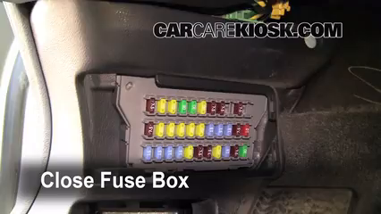 Interior Fuse Box Location: 2004-2008 Acura TL - 2007 Acura TL 3.2L