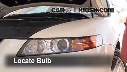 Highbeam Brights Change Acura TL Acura TL L V - 2004 acura tl headlight