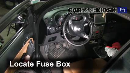 [ANLQ_8698]  Interior Fuse Box Location: 2000-2010 Alfa Romeo 147 - 2007 Alfa Romeo 147  T.Spark 1.4L 4 Cyl. | Alfa Romeo 147 Fuse Box Location |  | CarCareKiosk