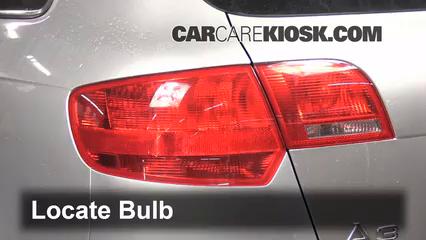 Rear Turn Signal Replacement Audi A3 (2006-2013) - 2007 Audi A3 2 0L