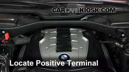 How to Jumpstart a 2002-2008 BMW 750Li - 2007 BMW 750Li 4 8L V8