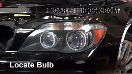 2007 BMW 750Li 48L V8 Lights Parking Light Replace Bulb