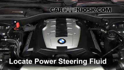 2007 BMW 750Li 4.8L V8 Power Steering Fluid