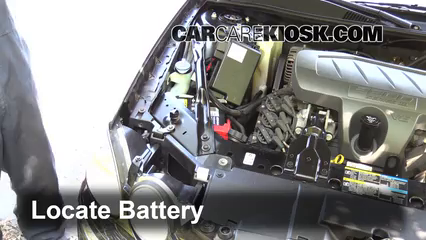 Buick Lacrosse Cxl L V Fbattery Locate Part on 2006 Buick Lacrosse Cx