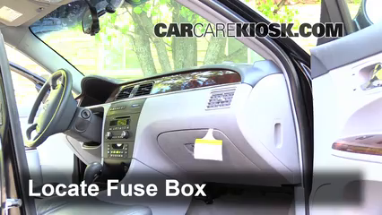 2008 buick lacrosse fuse box diagram complete wiring diagrams u2022 rh sammich co 2007 Buick Regal 2010 Buick Regal