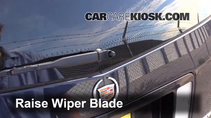 2007 Cadillac SRX 4.6L V8 Windshield Wiper Blade (Rear)