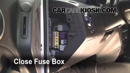 interior fuse box location: 2007-2011 chevrolet aveo5 - 2007 chevrolet aveo5  special value 1 6l 4 cyl