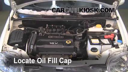 2007 2011 Chevrolet Aveo5 Fix Oil Leaks 2007 Chevrolet Aveo5
