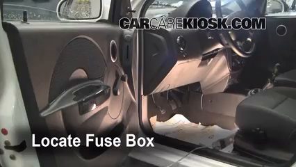 interior fuse box location 2007 2011 chevrolet aveo5 2007 rh carcarekiosk com chevrolet aveo 2007 fuse box diagram